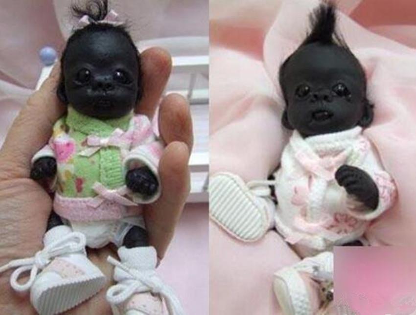 曾经很火的最黑的婴儿,现在已经四岁了,网友:还是一如既往的黑