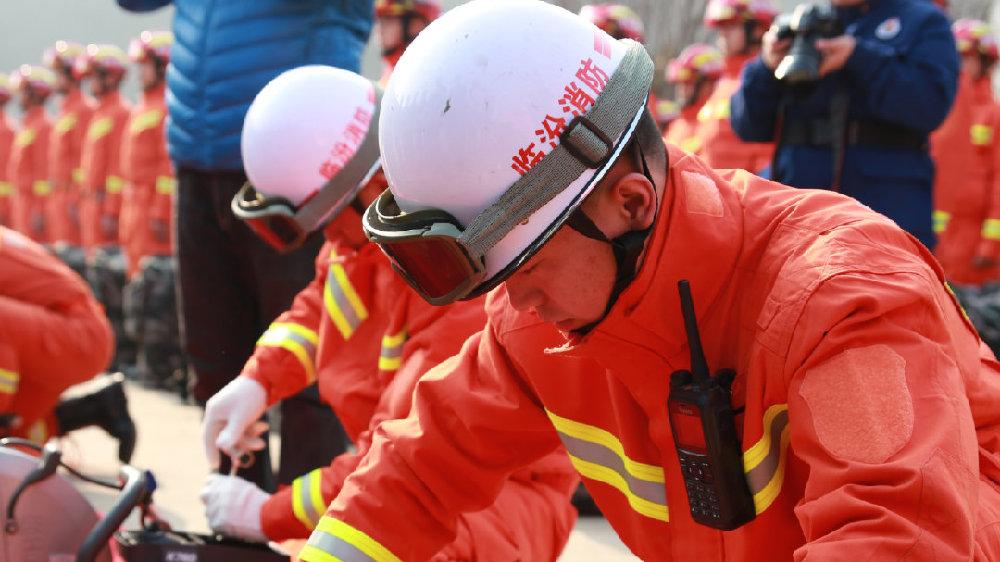 山西省消防救援总队举行跨区域地震灾害事故战勤保障实战演练!