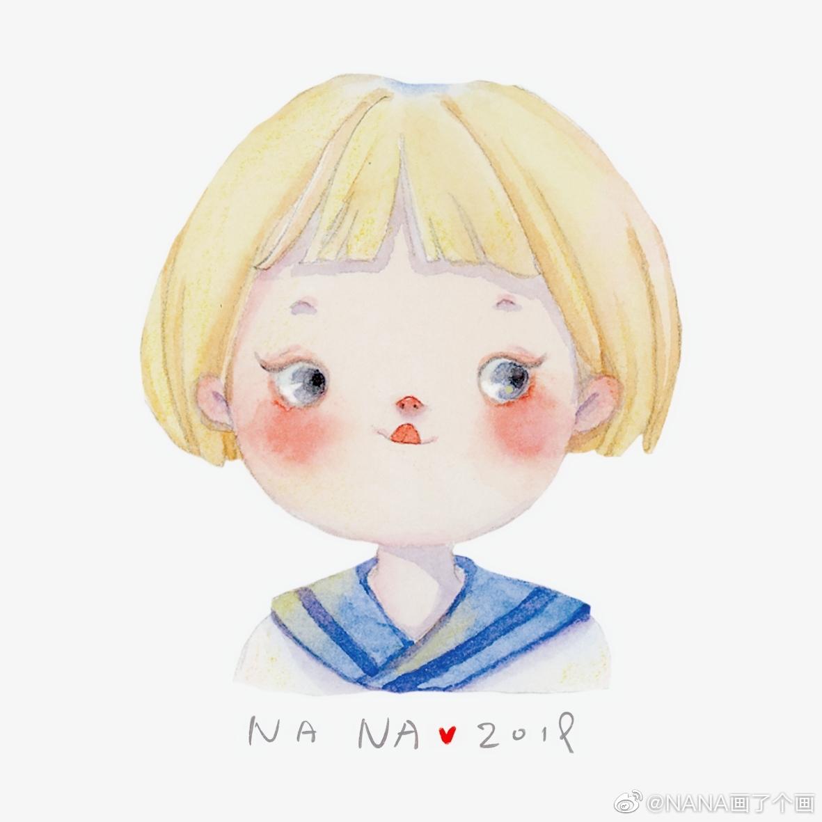 作者:@NANA画了个画新一轮小可爱,乖巧地排排站