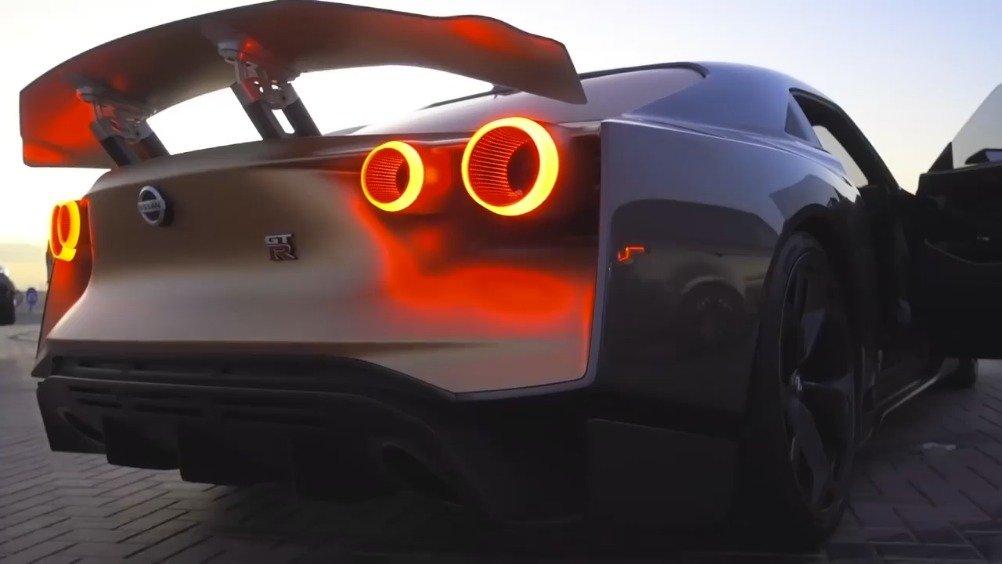 视频:早上还在说GTR R50,这不,中东的土豪就已经上手试驾了