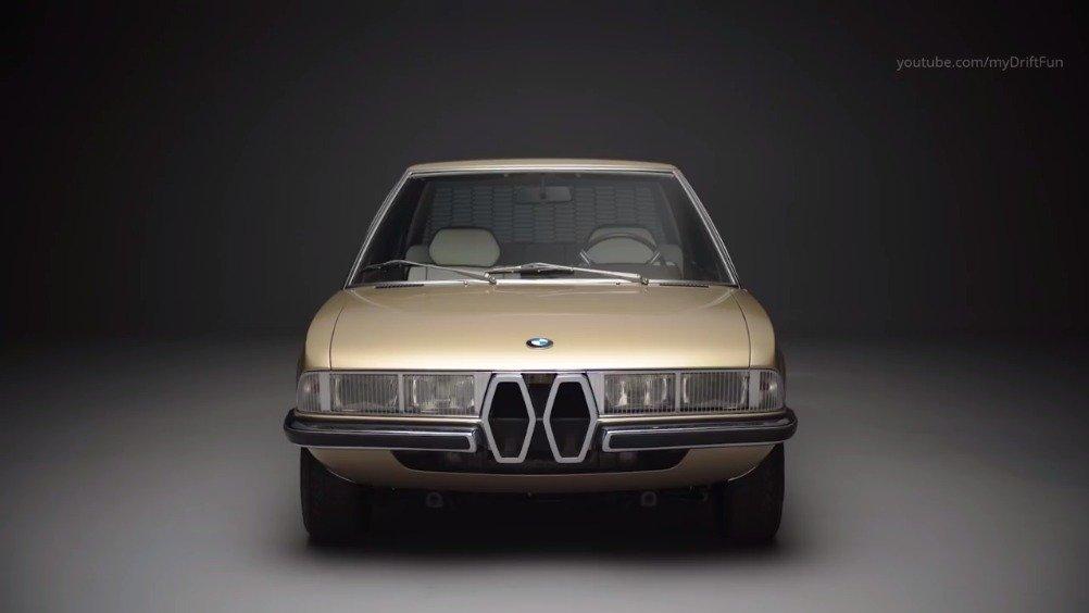 马塞洛甘迪尼(Marcello Gandini)是怎样设计一辆经典宝马概念车?