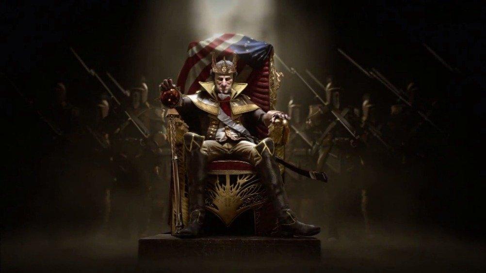 刺客信条3·暴君华盛顿王CG