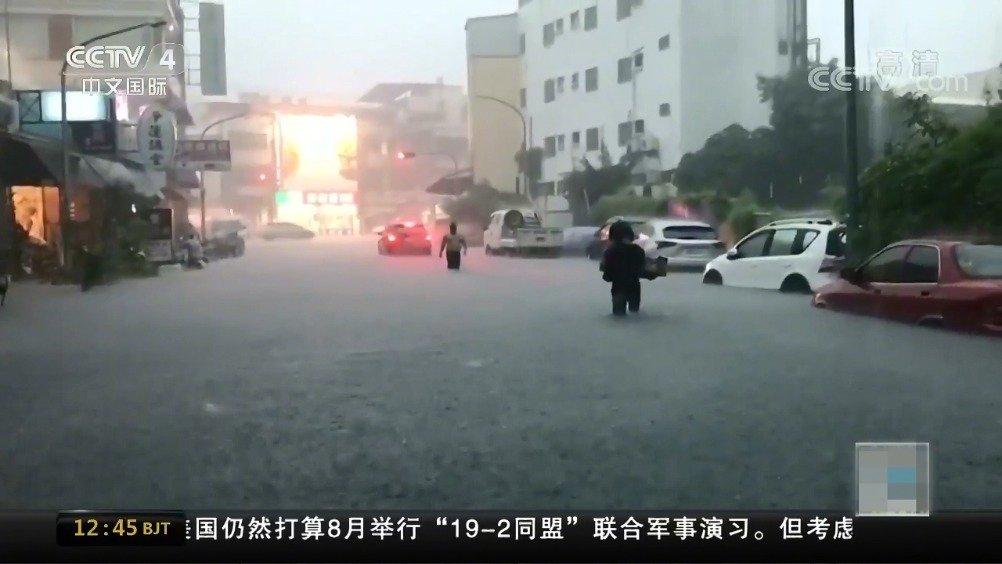"""从高雄淹水看台湾的""""灾害政治学"""":韩国瑜要修学分了"""