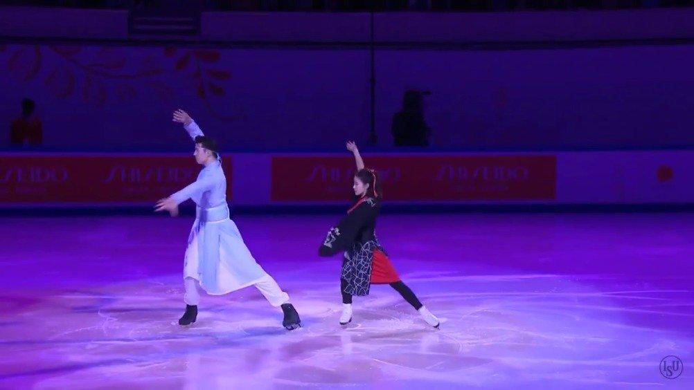 天呐!花样滑冰中国杯表演赛