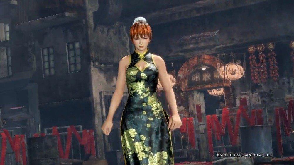 """《死或生6》推出复刻服装DLC""""千娇百媚旗袍"""",共17套"""
