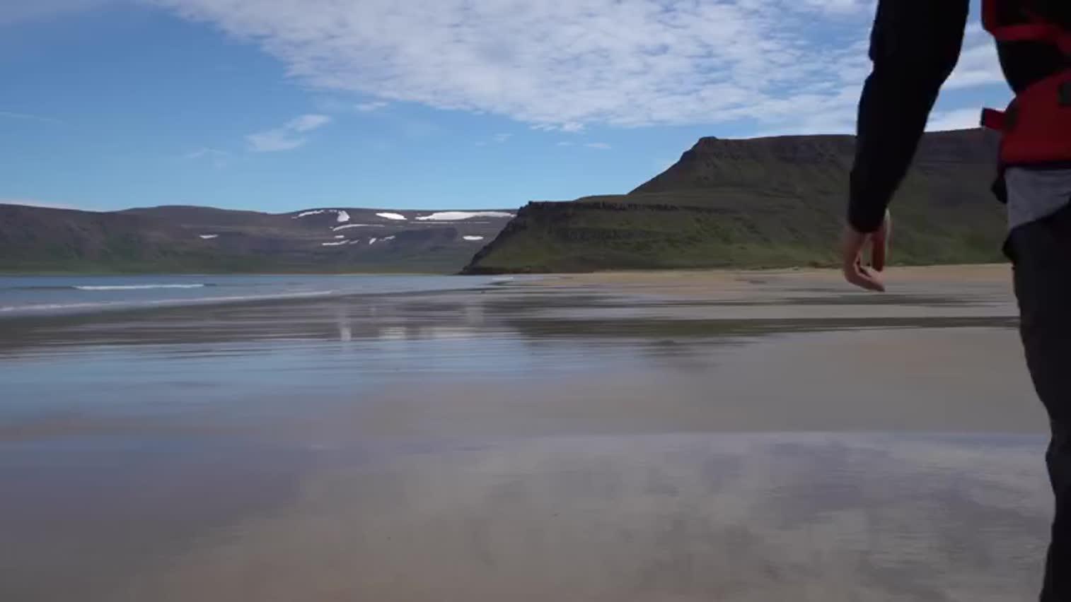 冰岛北部的Hornstrandir自然保护区,是冰岛风景最美的地方之一