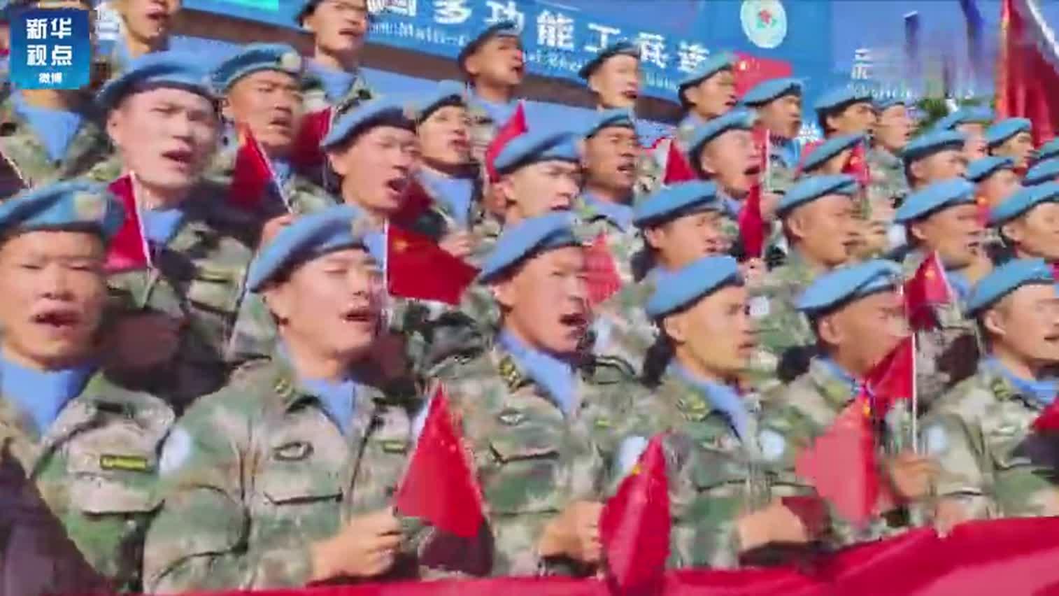 拜年了!中国赴苏丹维和官兵向全国人民送上新春祝福