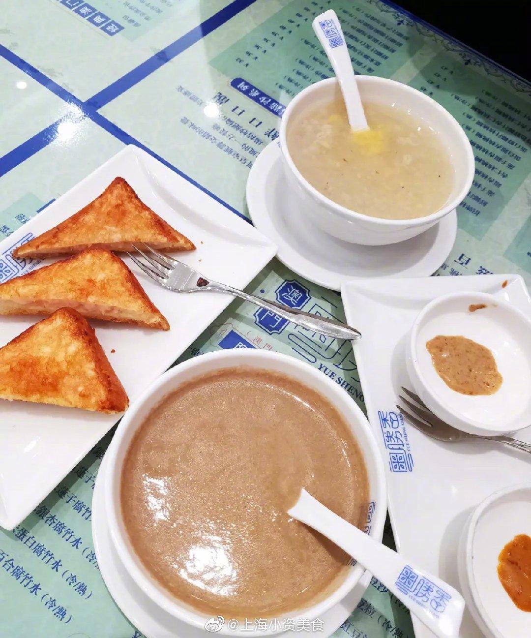 上海也能吃到地道的澳门糖水啦