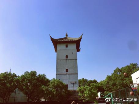 苏州大学方塔位于苏州大学天赐庄校区(本部)