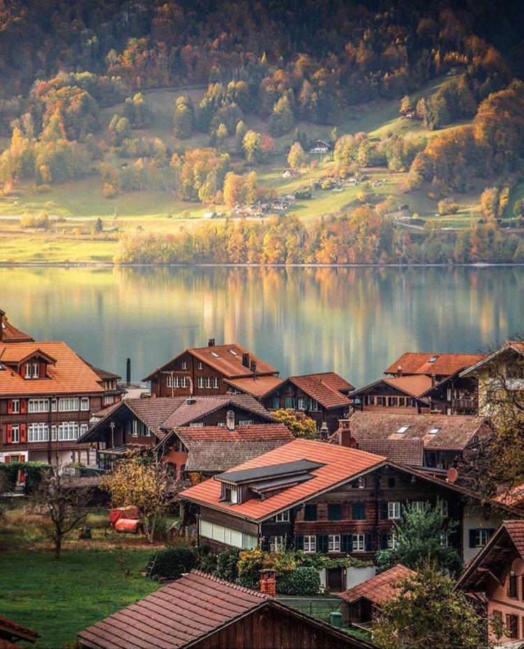 美如油画的瑞士