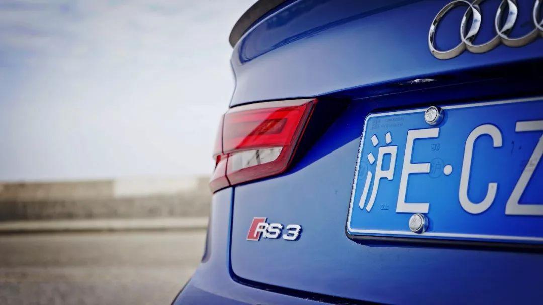前凸后翘的奥迪RS3,是条美人鱼