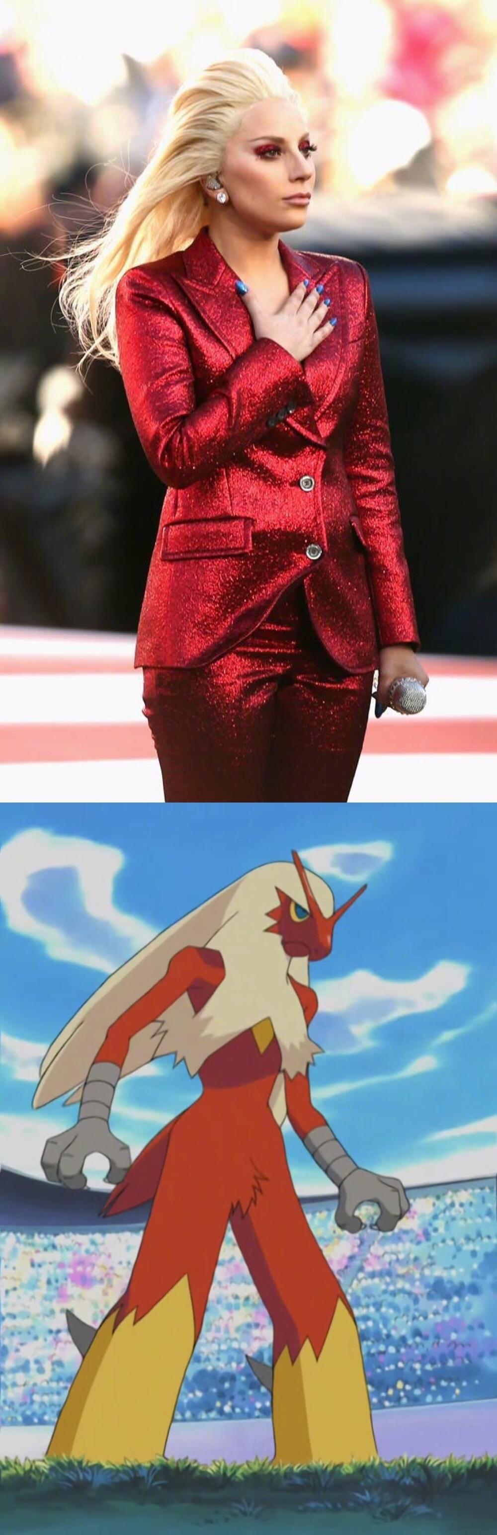 Lady Gaga,深藏不露的coser!(twi.fkajack)