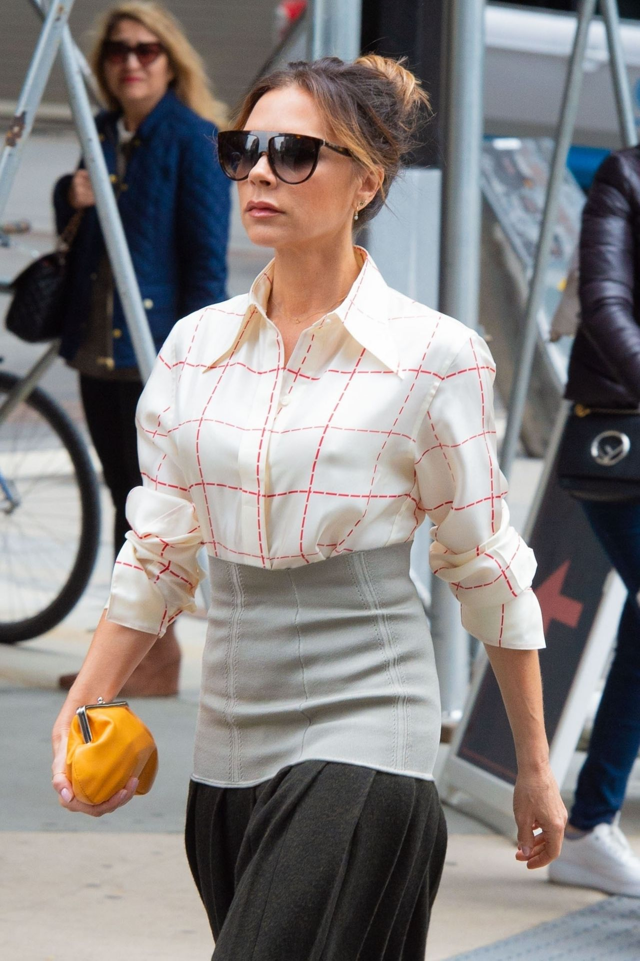 2019年5月9日,维多利亚·贝克汉姆(Victoria Beckham)现身纽约