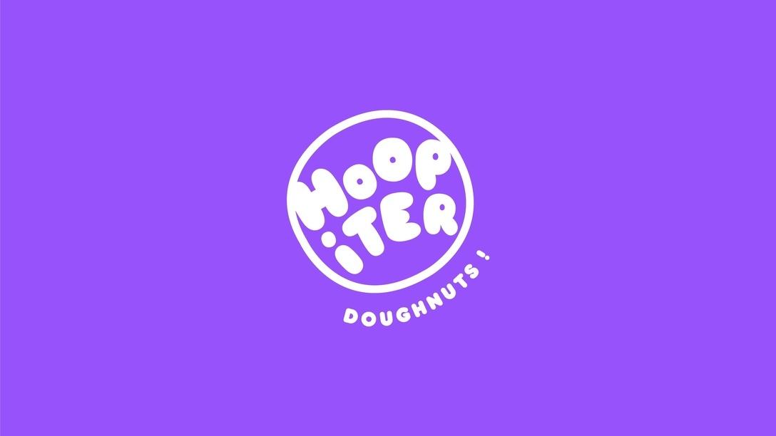 Hoopiter Doughnuts提案logo设计及品牌VI设计