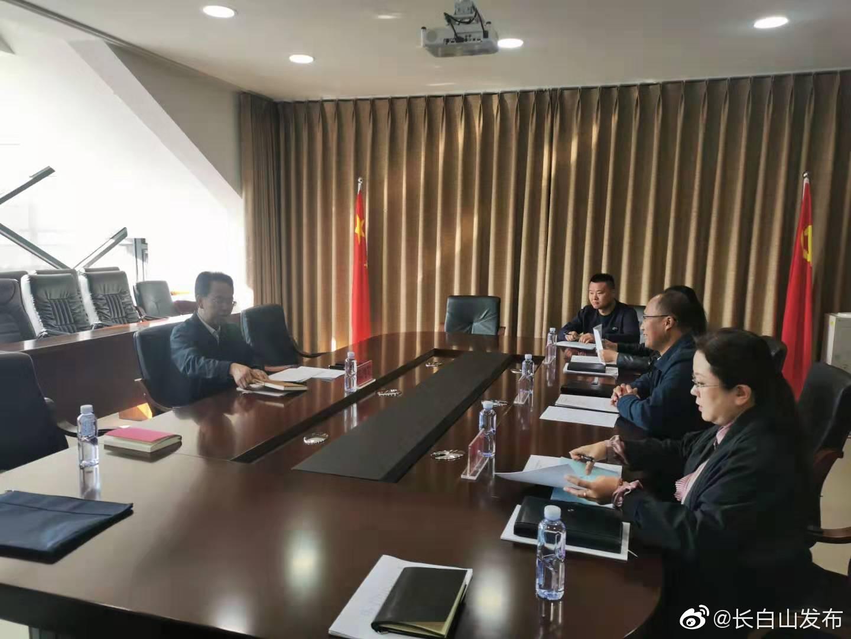 陈鸿罡副主任到管委会人社局开展调研