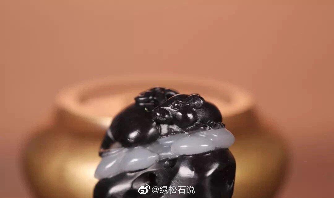 玉雕中常见的题材之一