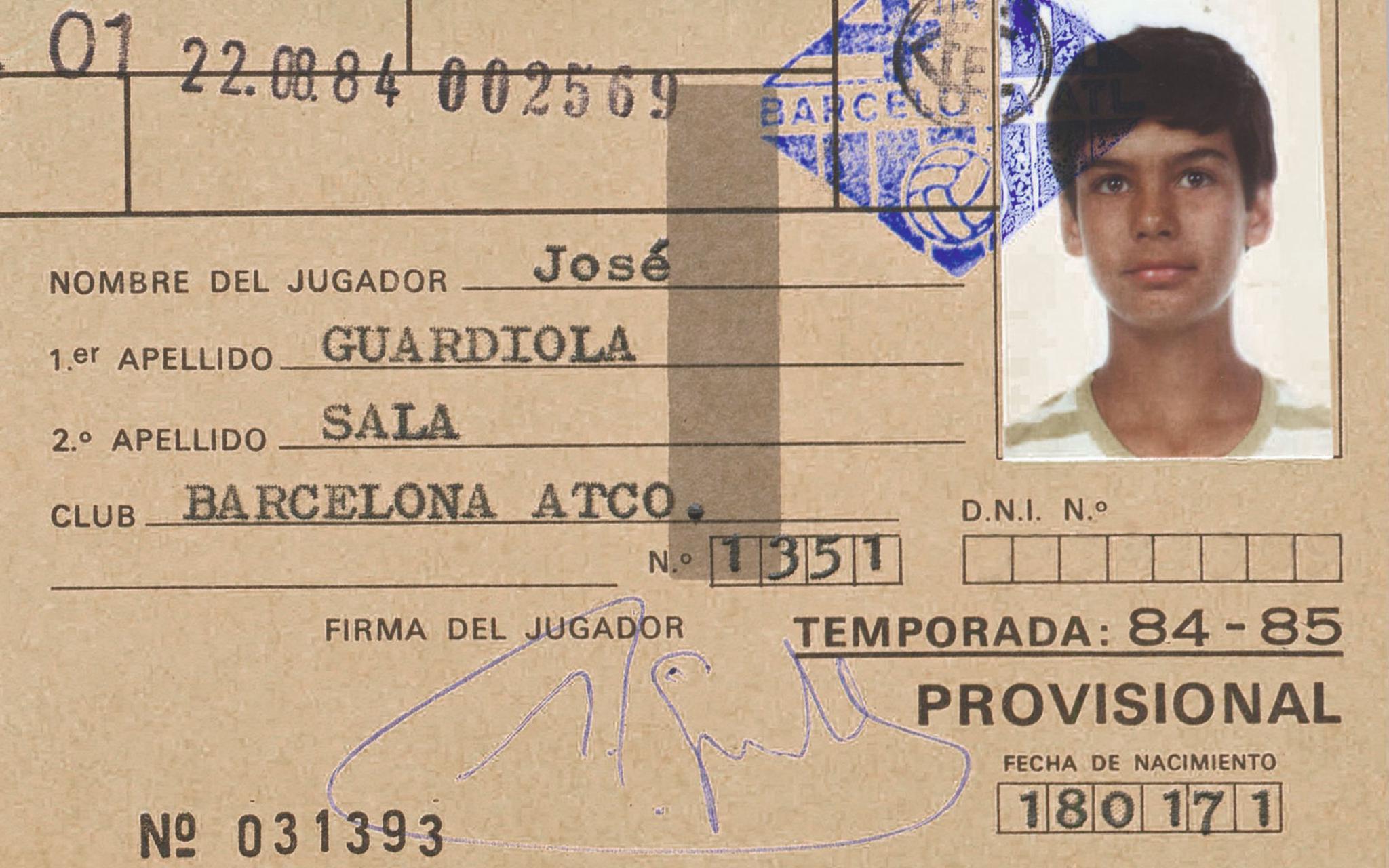 老照片瓜迪奥拉、普约尔、伊涅斯塔、梅西。