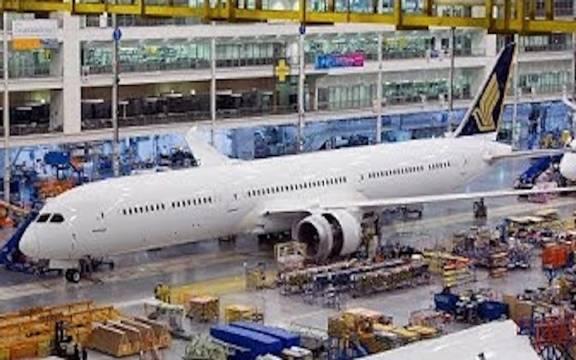如何制造一架波音787梦幻客机!一起来看!
