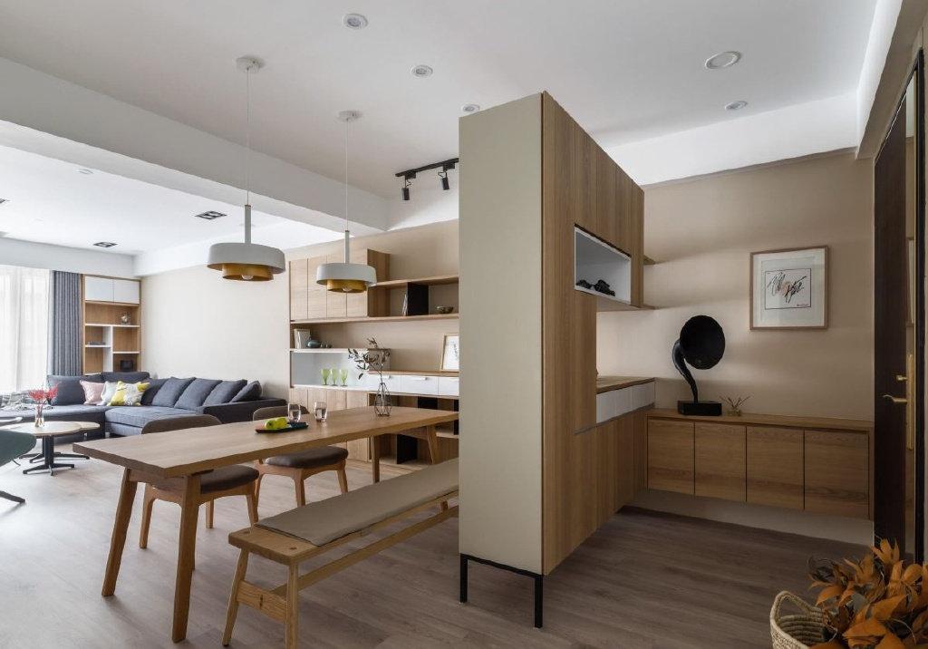 无印良品风之家,暖暖木纹质感,温馨舒适又品位!