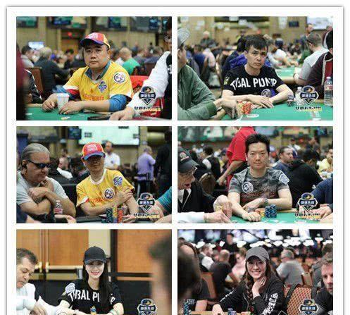 回顾华夏有为战队WSOP主赛瞬间:全员出战6人进圈