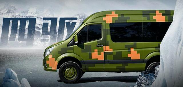 提供特种兵版本 福田图雅诺四驱短轴版售19.5万起