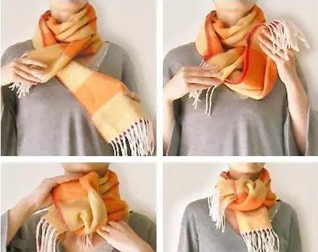 日本超火的秋冬围巾系法,让你既有温度又有风度!