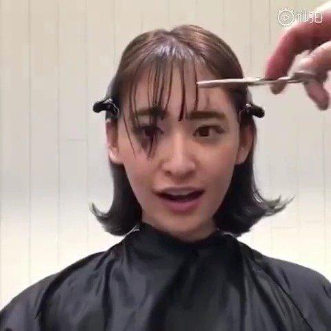 有自己在家剪刘海的小伙伴么?日本博主的短刘海剪发教程