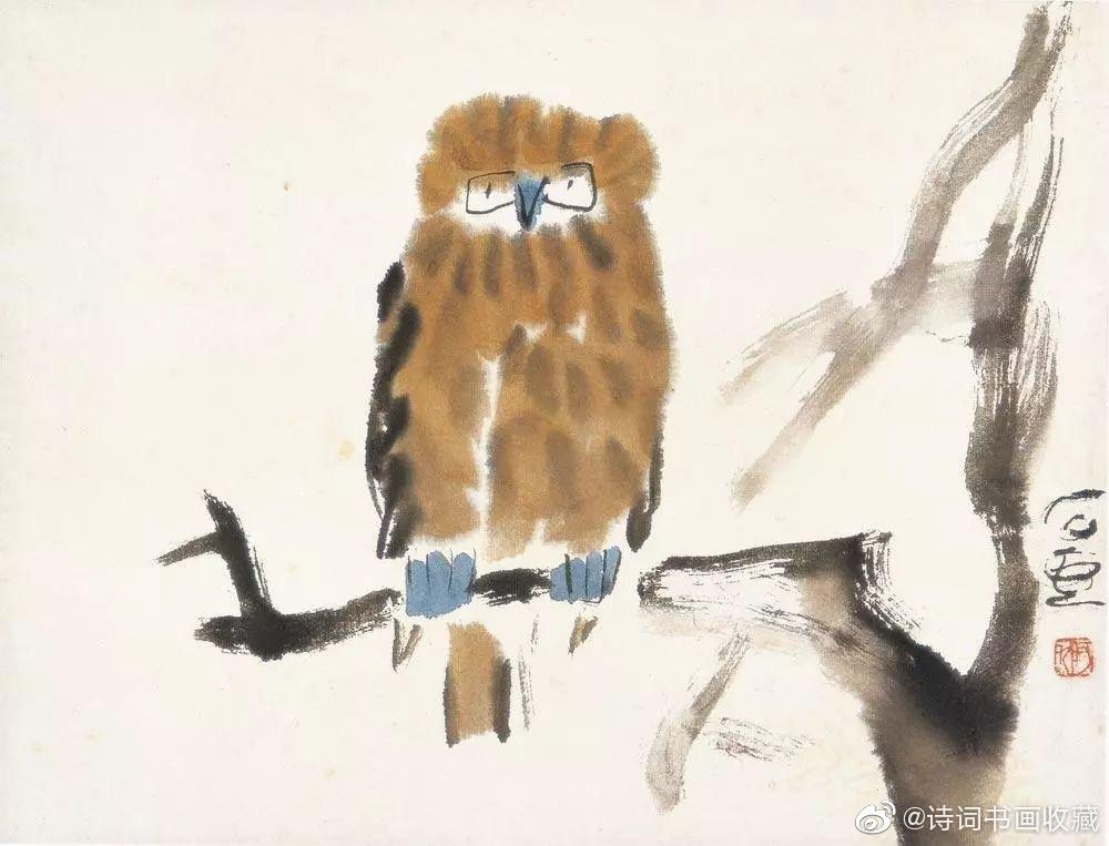 石壶(1913—1976),即陈子庄,现代画家