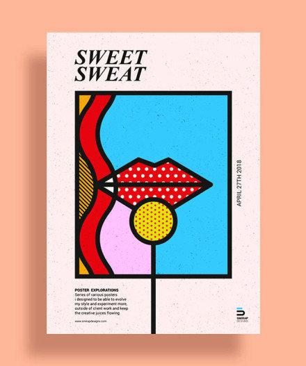 创意图形海报设计 设计师Mike Karolos