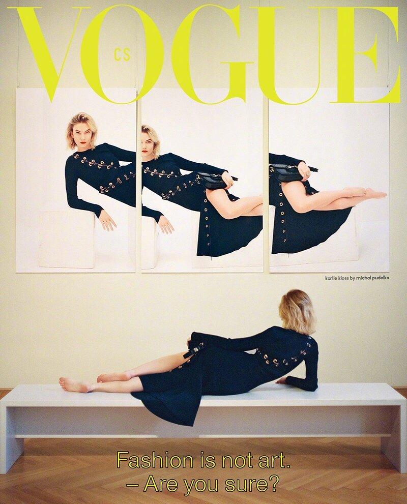 Vogue Czechoslovakia March 2020. 捷克版三月刊,