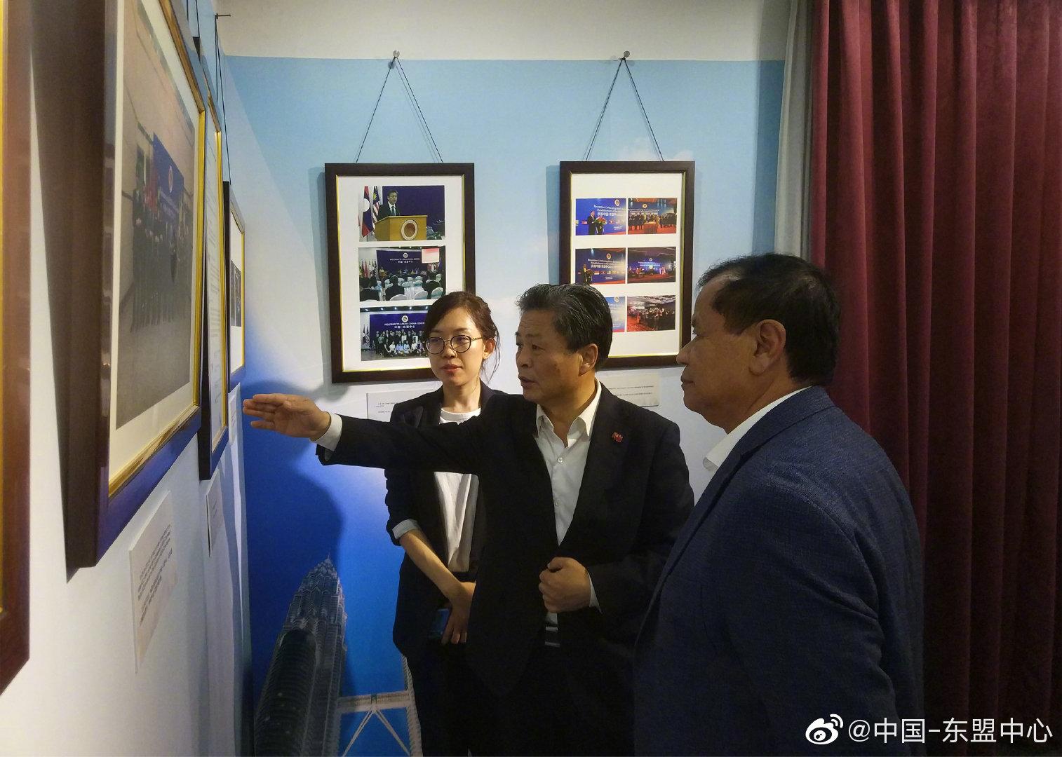 柬埔寨旅游部长唐坤访问中国-东盟中心