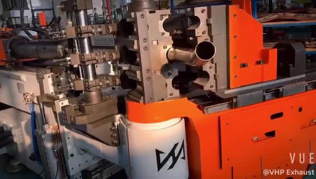 VHP Exhaust CNC数控 管件弯曲中...