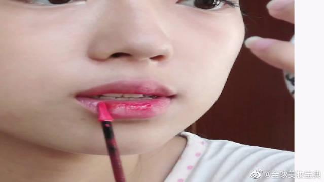 伪素颜水嫩清纯妆分享!内含圆鼻头鼻影化法+伪造自然卧蚕化法