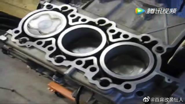 最新保时捷发动机维修拆装配,就看你的动手能力强不强了。
