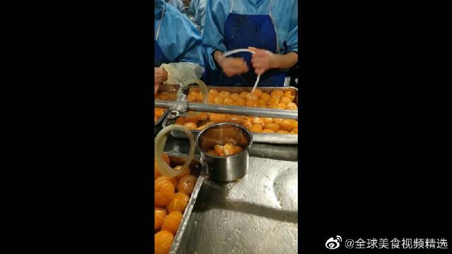 做橘子罐头的工厂,我们拿来剔牙的牙线,原来还有这作用!