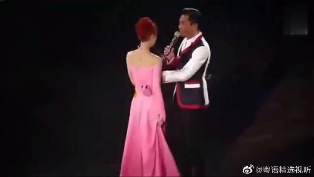 古天乐助阵杨千嬅演唱会,古仔唱哥哥张国荣的歌这么神似