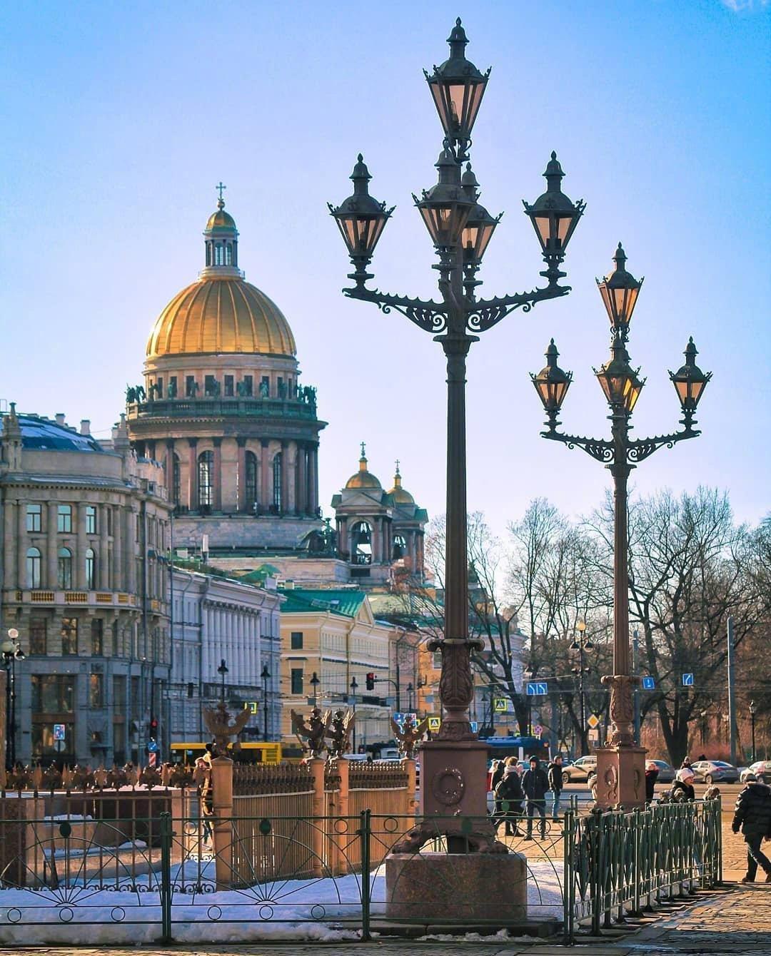 圣彼得堡Palace Square .
