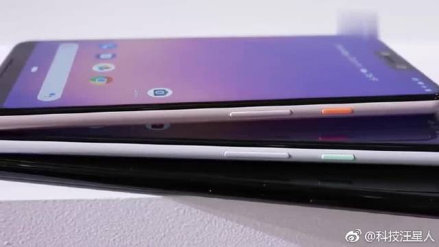 谷歌Pixel 3和Pixel 3 XL上手比较,哪个外观设计更好看