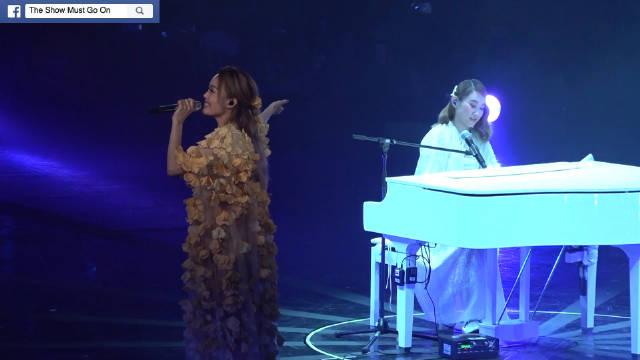 @容祖儿 与 唱歌優雅做戲瘋狅既重量級藝術家@王菀之Ivana 演唱《末日