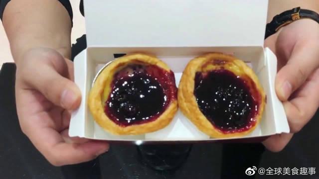"""肯德基新品""""公爵蓝莓蛋挞"""",看起来就像是烤焦了的蛋挞"""