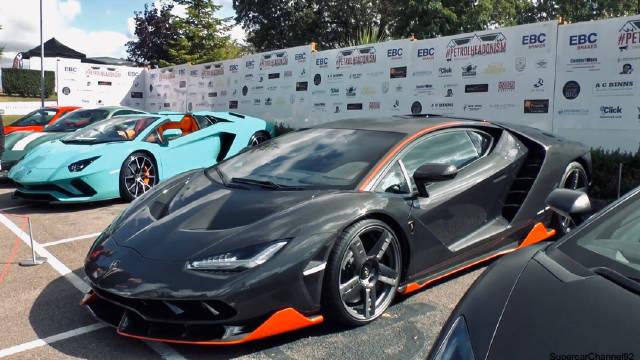 极致兰博基尼大蛮牛     Lamborghini Centenario LP770-4        7