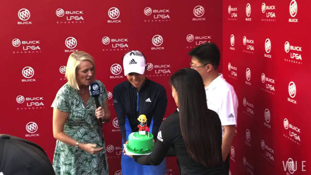 2018@别克LPGA锦标赛 的冠军丹妮尔·姜成功在今年卫冕