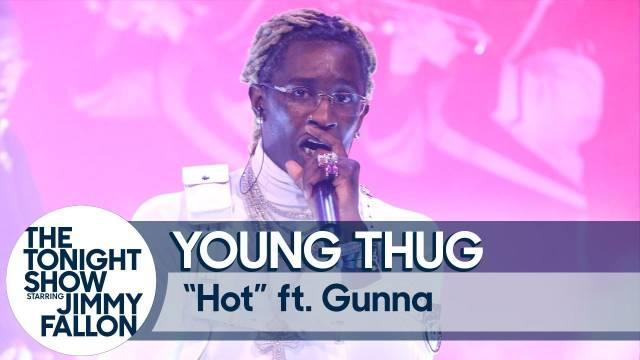美国知名说唱歌手Young Thug联手Gunna的新单《Hot》