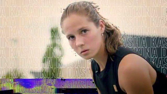 """""""自踏上球场,我一直梦想着成为一名网球运动员"""