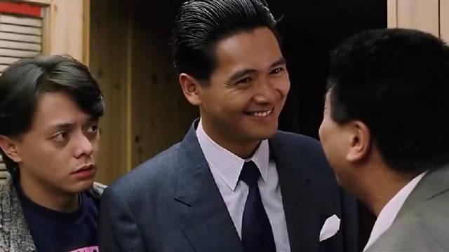 《赌神》后来达叔带着赌圣来拜师再说一句,王祖贤真的太漂亮了!