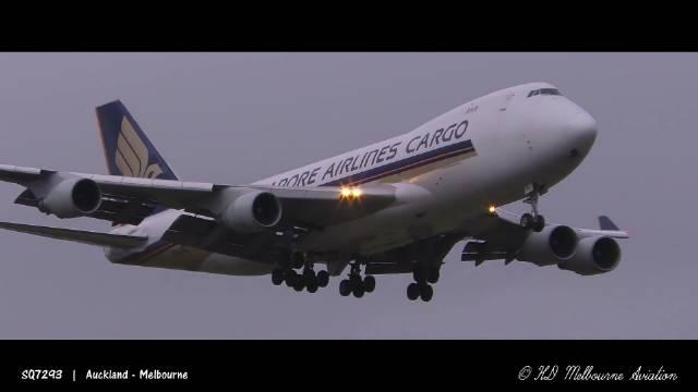 24架次大型客机清晨抵达墨尔本国际机场!一起来看看吧!