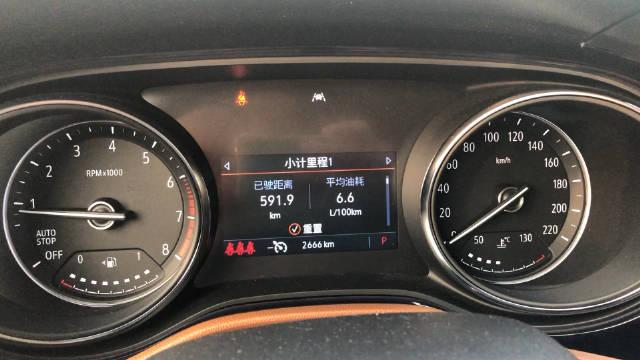 视频:给别克昂科拉GX第一次加油 计算了一下油耗是6