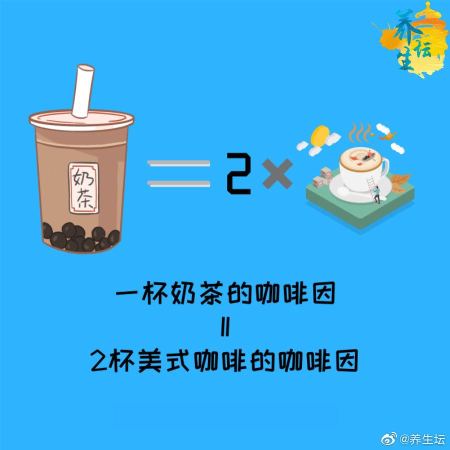 看完一杯奶茶的含糖量和咖啡因,你还敢喝吗