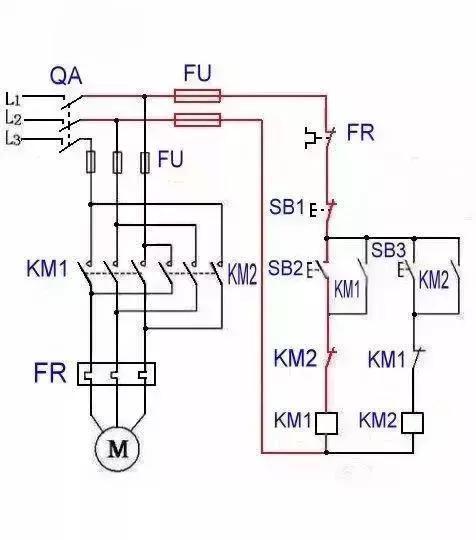 电机正反转控制电路