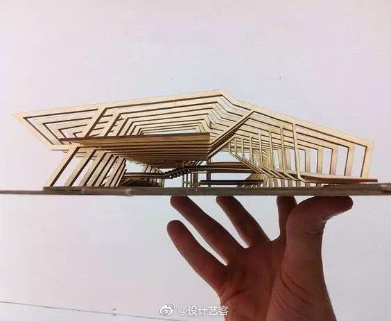 建筑设计,概念的模型空间表达 …